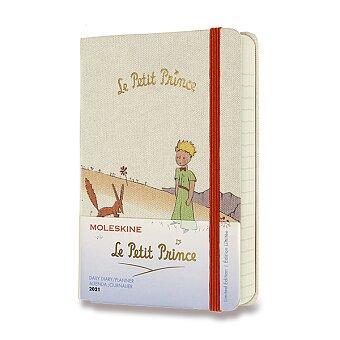 Obrázek produktu Diář Moleskine 2021 Le Petit Prince - tvrdé desky - S, denní, liška