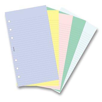 Obrázek produktu Poznámkový papír, mix - náplň osobních diářů Filofax