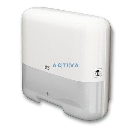 Obrázok produktu Tork Elevation Mini H3 - zásobník na skladané utierky - biely
