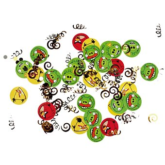 Konfety Angry Birds