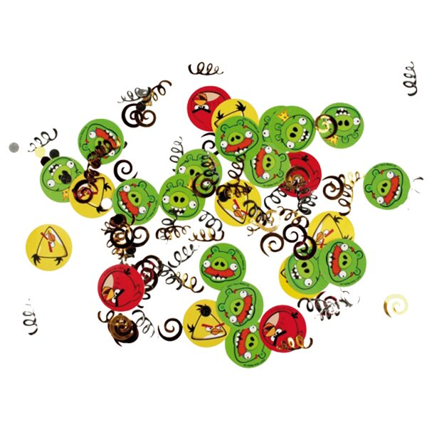 Konfety Angry Birds 34 g, mix tvarů
