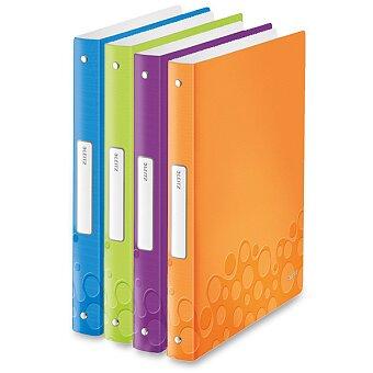 Obrázek produktu 4 - kroužkový pořadač Leitz Style Wow - plast, A4, 25 mm, výběr barev