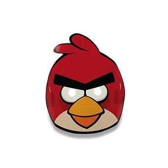 Obrázek produktu Papírová maska Angry Birds - 6 ks