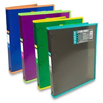 Obrázek produktu 4 - kroužkový pořadač Foldermate Popgear Plus - plast, A4, 30 mm, výběr barev