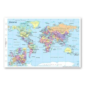 Obrázek produktu Mapa - náplň osobních diářů Filofax