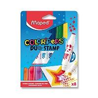 Dětské fixy Color´Peps Duo Stamp