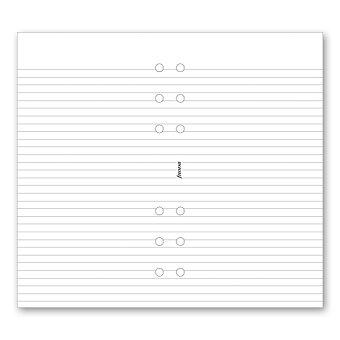 Obrázek produktu Poznámkový blok, linkovaný - náplň osobních diářů Filofax
