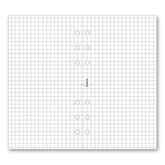 Obrázek produktu Poznámkový blok, čtverečkovaný - náplň osobních diářů Filofax