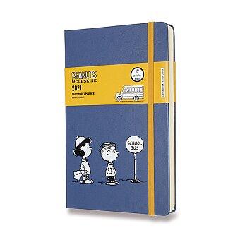 Obrázek produktu Diář Moleskine 2021 Peanuts - tvrdé desky - L, denní, school bus