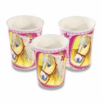 Obrázek produktu Papírové kelímky Charming Horses - objem 0,25 l, 8 ks