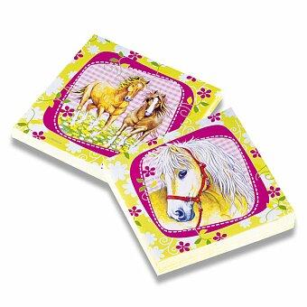 Obrázek produktu Papírové ubrousky Charming Horses - 33×33 cm, 20 ks