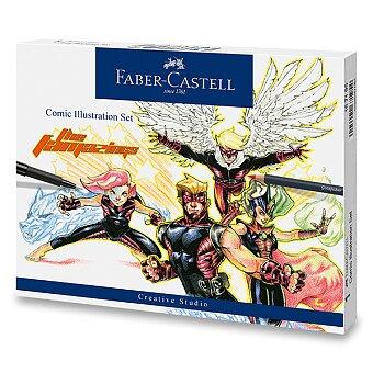 Obrázek produktu Popisovač Faber-Castell Comic Illustration - sada, 15 ks