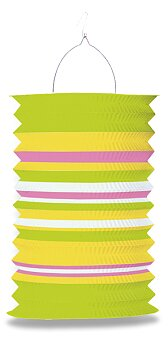 Obrázek produktu Papírový lampion - délka 28 cm, mix motivů