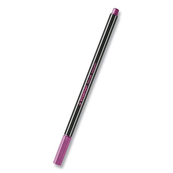 Fix Stabilo Pen 68 metallic metalická růžová