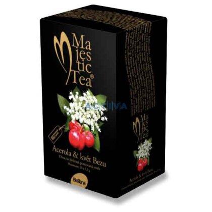 Obrázek produktu Biogena Majestic Tea - porcovaný čaj - Acerola & květ Bezu