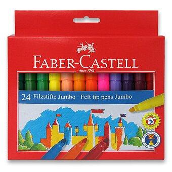 Obrázek produktu Dětské fixy Faber-Castell Jumbo - 24 barev