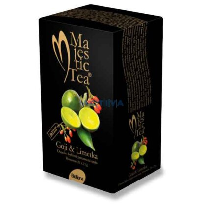 Obrázek produktu Biogena Majestic Tea - porcovaný čaj - Goji & Limetka