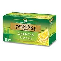 Zelený čaj Twinings s citronem