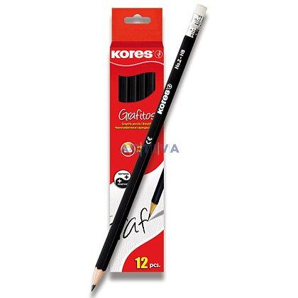 Obrázek produktu Kores - grafitová tužka - HB, 12 ks