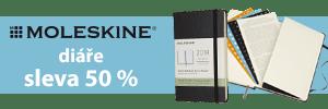 Moleskine diáře 2018 výprodej sekce 2