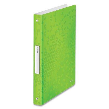 Obrázek produktu Leitz WOW - 4kroužkový pořadač - A4, 25 mm, zelený