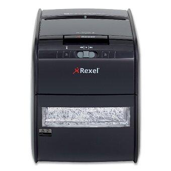 Obrázek produktu Skartovací stroj Rexel Auto+ 60X - automat, příčný řez 4 x 45 mm