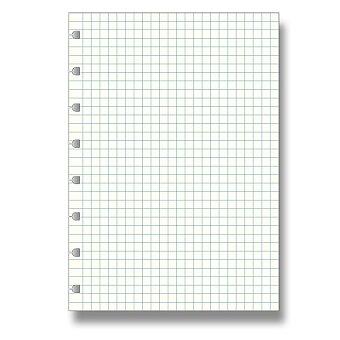 Obrázek produktu Čtverečkovaný papír - náplň zápisníků A5 Filofax Notebook