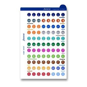 Obrázek produktu Organizační štítky - náplň diářů Filofax