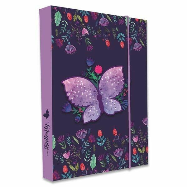 Box na sešity Motýl A5