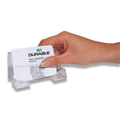 Obrázek produktu Durable - stojánek na vizitky - na 50 vizitek