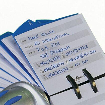 Obrázek produktu Durable Visifix - náhradní pouzdra do vizitkáře