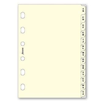 Obrázek produktu Krajové výřezy, A-Z - náplň kapesních diářů Filofax