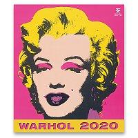 Nástěnný obrázkový kalendář Andy Warhol 2020