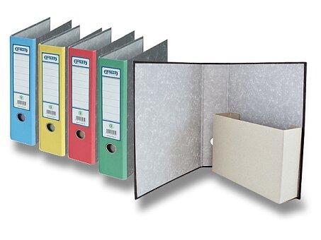 Obrázek produktu Archivační pořadač s kapsou Emba - A4, 75 mm, výběr barev