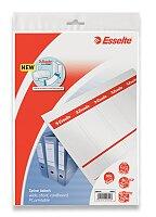 Kartonové štítky Esselte Easy Print