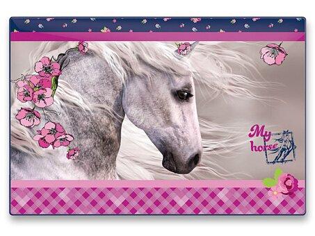 Obrázek produktu Podložka na stůl - kůň - 60 x 40 cm