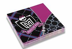 Papírové ubrousky Monster High