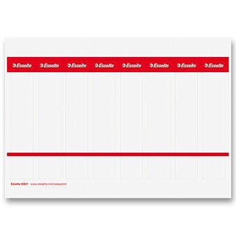Obrázek produktu Kartonové štítky Esselte Easy Print - 29 mm x 158 mm, 80 ks