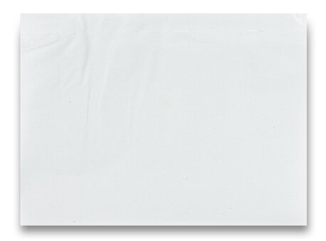 Obrázek produktu Expediční samolepicí obálka - C6, transparentní, 100 ks