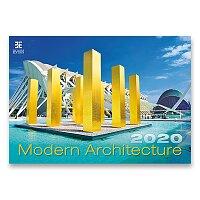 Nástěnný obrázkový kalendář Modern Architecture 2020
