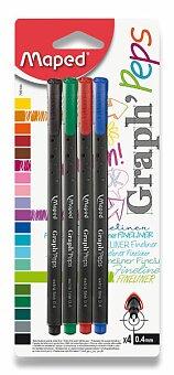 Obrázek produktu Liner Maped Graph'Peps - sada 4 základních barev