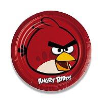 Papírové talířky Angry Birds