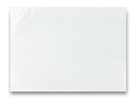 Obrázek produktu Expediční samolepicí obálka - 230×170 mm, C5, transparentní, 100 ks