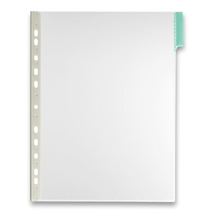 Product image Durable - portrait display panel with index tab