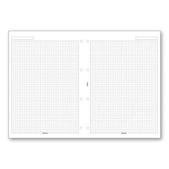Obrázek produktu Poznámkový papír, čtverečkovaný - náplň A4 k diářům Filofax