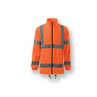 Obrázek produktu REFLEX FLEECE - unisex fleecová bunda s reflexními pruhy, vel. XXL, výběr barev
