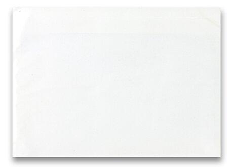 Obrázek produktu Expediční samolepicí obálka - 320×230 mm, C4, transparentní, 50 ks