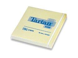 Samolepicí bloček Tartan