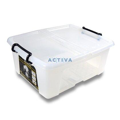 Obrázok produktu CEP Strata - úložný box s vrchnákom - objem 24 l, 397 x 498 x 202 mm