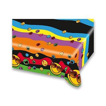 Obrázek produktu Plastový ubrus Smiley - 120×180 cm